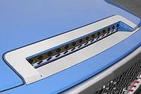 Накладка на капот  Toyota FJ Cruiser