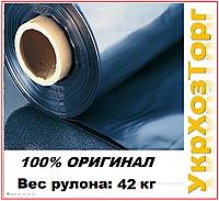 Пленка черная полиэтиленовая 150 мкм. (для мульчирования,строительная)  3 м рукав 6 м в развороте(Высший сорт)