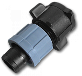 Старт-Коннектор на плоский шланг, короткий