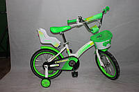 Велосипед двухколёсный 14 дюймов Azimut KIDS BIKE CROSSER-3 зеленый***