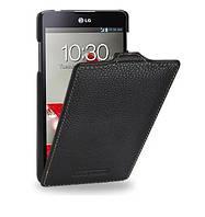 Кожаный чехол TETDED для LG E975 Optimus G черный, фото 1