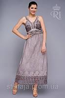 Летний индийский сарафан длинный ,натуральная ткань без рукава, фото 1