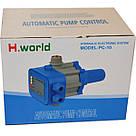Автоматика для насосов с защитой от сухого хода пресс контроль PC-10 H.World, фото 2