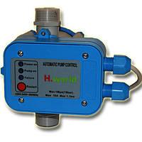 Автоматика для насосов с защитой от сухого хода пресс контроль PC-10 H.World