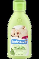 Детское масло для тела с экстрактом шалфея Babylove Pflegeöl, 250 ml.