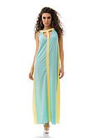 Стильное женское платье макси - IK3027