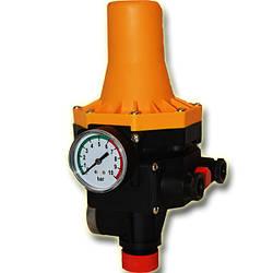 Автоматика для насосов с защитой от сухого хода пресс контроль PC-12 H.World