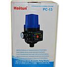 Автоматика для насосов с защитой от сухого хода пресс контроль PC-13 H.World, фото 2