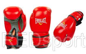 """Перчатки боксерские кожа """"EVERLAST""""  ZET-4006-12"""