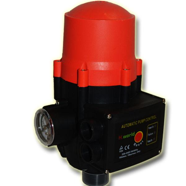 Автоматика для насосів з захистом від сухого ходу прес контроль RT-16А Цинк H. World