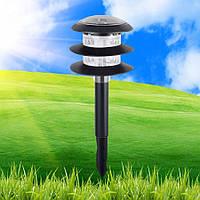 Газонный светильник на солнечной батарее Horoz SATURN