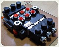 Cекционный электрораспределитель - 3 секции, 40 - 50 л/мин, 24V