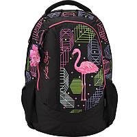 Рюкзак Kite Style фламинго для старшеклассниц