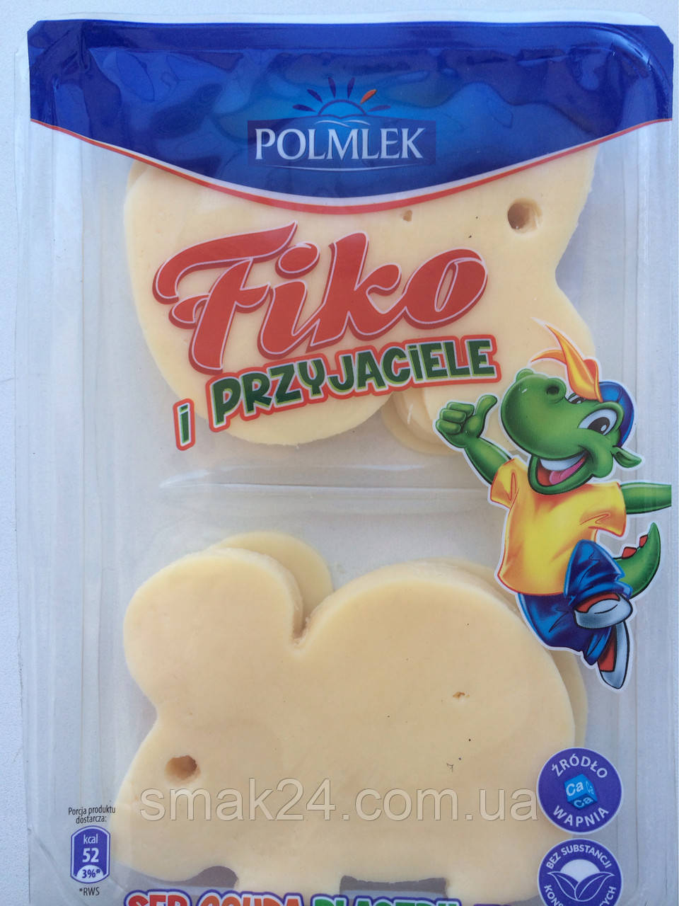 Сыр детский Fiko i przyjaciele (Фико и друзья) Gouda (Мышки) Польша 150г