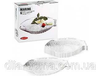 Марине тарелка Рыба 26*21с (6 шт.)