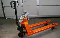 Рокла с весами Аксис 4BDU1000Р-ВПП, до 1000 кг (с принтером самоклеющихся этикеток)