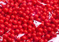 Пенопластовые шарики (вес 10g, диаметр 7mm)  для рукоделия, творчества и декора красные