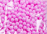 Пенопластовые шарики (вес 10g, диаметр 7mm)  для рукоделия, творчества и декора розовые