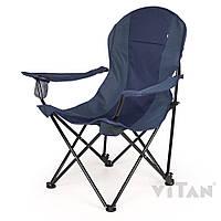 Кресло «Директор Лайт» (синий оксфорд-рипстоп) Vitan