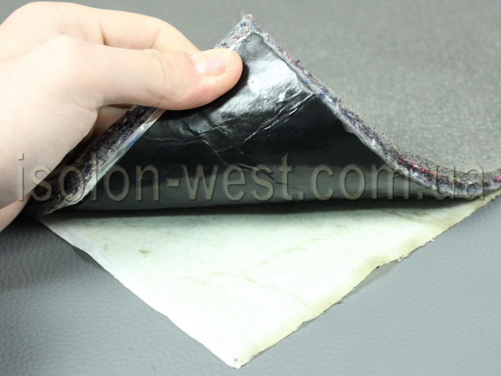 Виброшумка войлочная 3в1 12ИВВ/3.0 (50х70)см, толщина 15мм. влагостойкая, многослойная