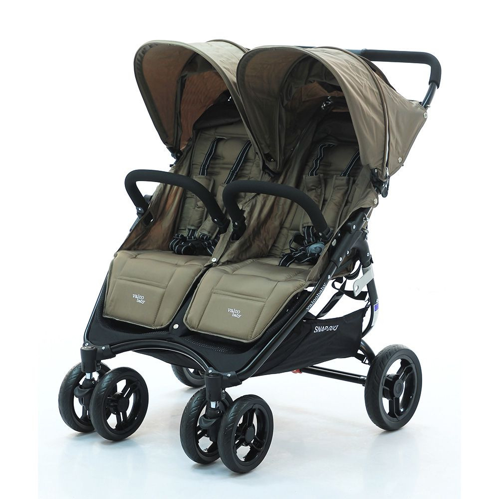 Прогулочная коляска для двойни Valсo Baby Snap Duo Denim