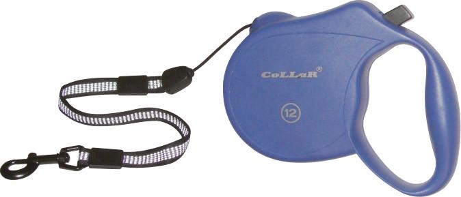 "Рулетка ""CoLLaR control"" 12 кг, 5м (светоотр.лента, трос)"