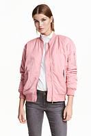 Женская куртка бомбер H&M в наличии  L