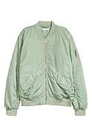 Женская куртка бомбер H&M в наличии XS S M