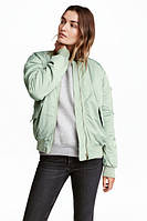 Женская куртка бомбер H&M в наличии  S M