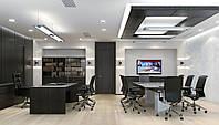 Освещение офисов, замена светильников и ламп на LED