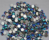 Стразы Сваровски 1440 шт, цвет:синий хамелион, №4 (1,5 мм)