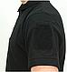 Футболка  мужская потовыводящая  POLO тактическая  черная Urban Tactical Line®   COOLMAX ® Германия, фото 5