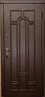 Двери входные (квартира, эконом улучшенная) Герда тёмный орех