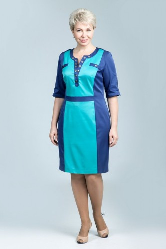 """Платье женское """"Petro Soroka"""" модель МС 1616-34"""