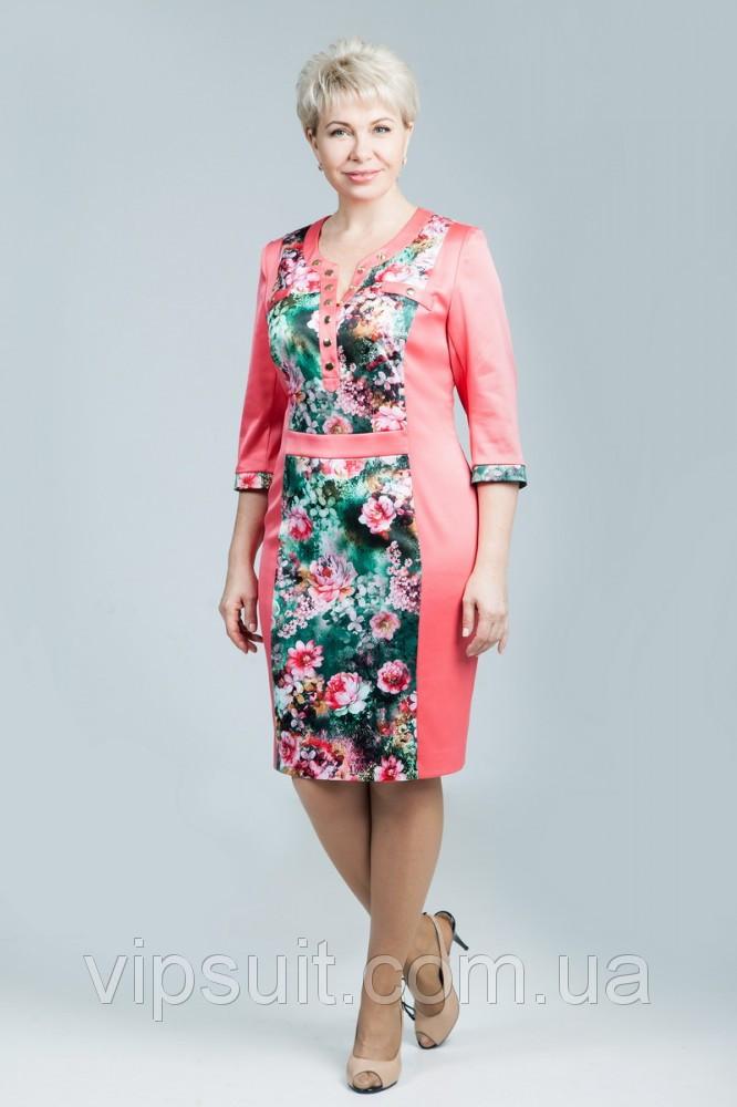 """Платье женское """"Petro Soroka"""" модель МС 1616-14"""