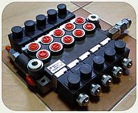 Cекционный электрораспределитель - 5 секций, 40 - 50 л/мин, 24V