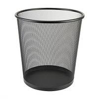 Корзина металлическая офисная (26*24 см.) DX-5003 черная