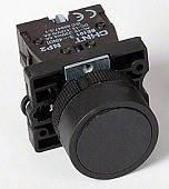 Кнопка NP2-EA21 1NO Чорна
