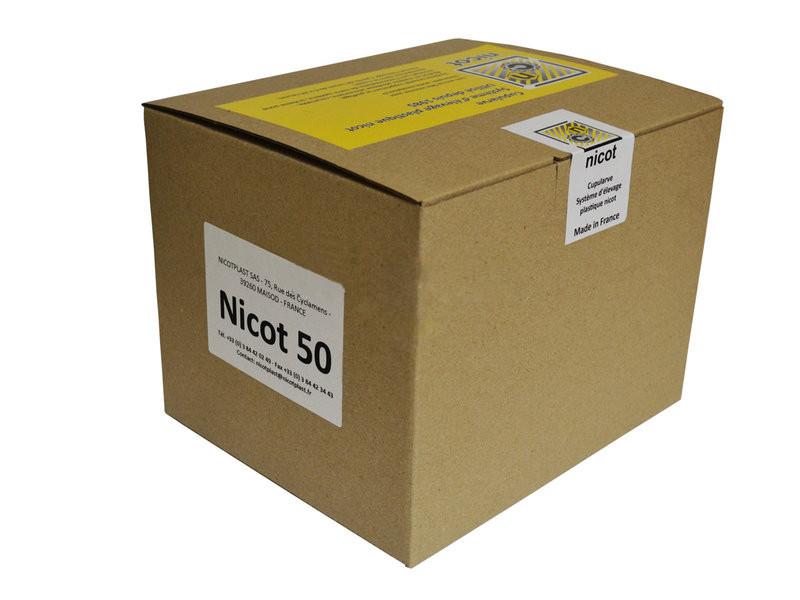 """Комплект - Система """"Никот-50"""" (кассета, мисочки 110, цоколь 50, держатель 50, бигуди 50), Франция"""