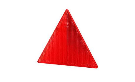 Рефлектор - треугольник, без рамки, на 2-х винтах, фото 2