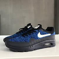 Кроссовки Nike Air Max 87 Ultra Flyknit Black/Blue мужские