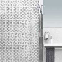 Шторка для ванной виниловая Spirella GRID, 180х200
