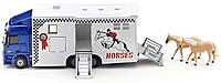 Грузовик для перевозки лошадей Mercedes-Benz Actros, 1:50, Siku