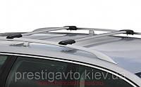 Поперечины под рейлинги аэродинамические с замками на Mitsubishi Pajero Wagon