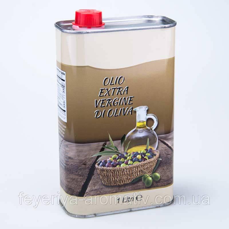 Масло оливковое Vesuvio Olio Extra Vergine di Olive 1л. (gr) ж/б прямоугольная