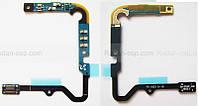 Шлейф верхний на плате (контакты акб, разъем коаксиального кабеля) Samsung E500H Galaxy E5, GH96-08023A оригин