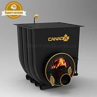 Печь калориферная «Canada» с варочной поверхностью «00» со стеклом  Мощность:7 кВт Отапл. площадь до 130м3