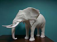 Объемный декоративный слон