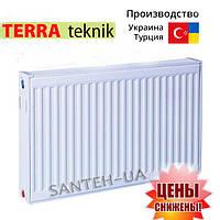 Радиаторы стальные TERRA teknik!нижнее подключение!тип 22 500х800