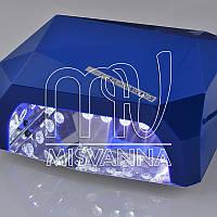 УФ лампа POWERFUL UV+LED DIMOND на 36 Вт (blue)